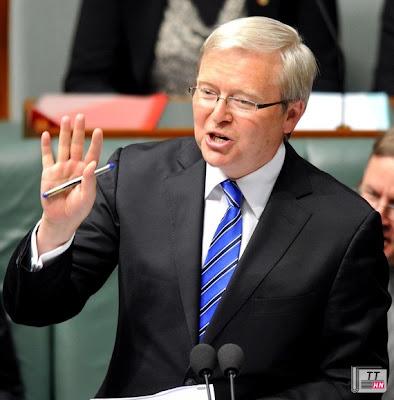 Ông Kevin Rudd đã trở lại làm thủ tướng Úc