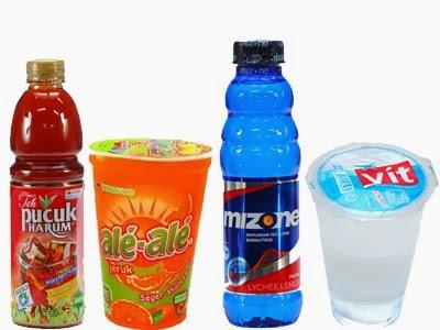 Daftar Harga Minuman Ale-ale, Aqua, Mizone, Vit, dan lain-lain