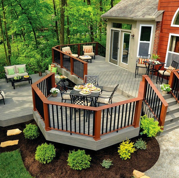 using wooden materials for outdoor relax space | Manufacturers Outdoor Furniture