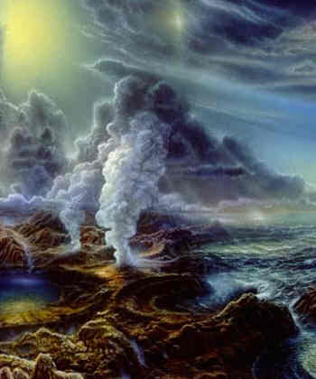 Resultado de imagen de El surgir de la vida en la Tierra primigenia