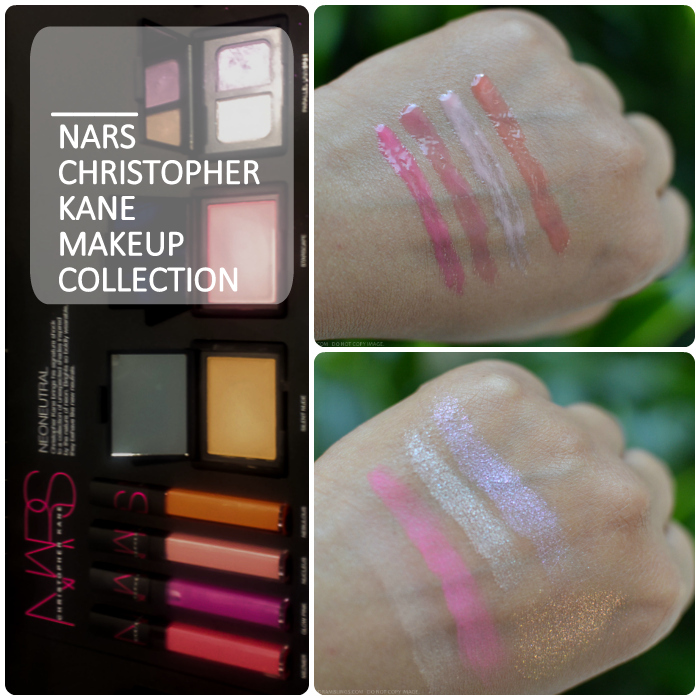 NARS Christopher Kane Makeup Collection Summer 2015 Swatches