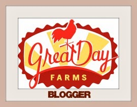 I'm a Great Day Farms Blogger!