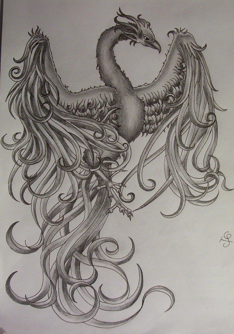 Japanese Phoenix Tattoo Designs