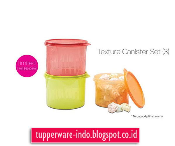 Texture Canister Set (3)