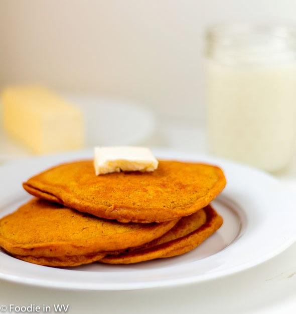 Recipe for IHOP Pumpkin Pancakes