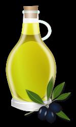 Imagenes Sin Copyright: Aceite de oliva en una vasija de cristal