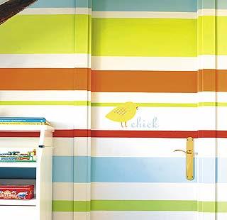 ¿Por qué decorar sólo las paredes?