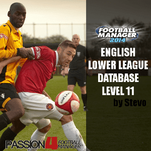 FM14 English Lower League Database