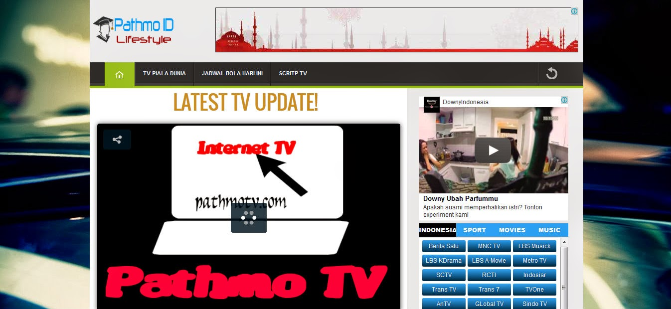 TV Streaming Cepat Pathmo TV