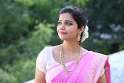 Swathi Dazzling in Pink saree-thumbnail-6
