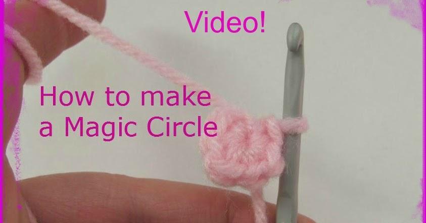 Amigurumi Magic Ring Tutorial : Magic Circle Video Tutorial Adjustable Ring ~ Amigurumi To Go