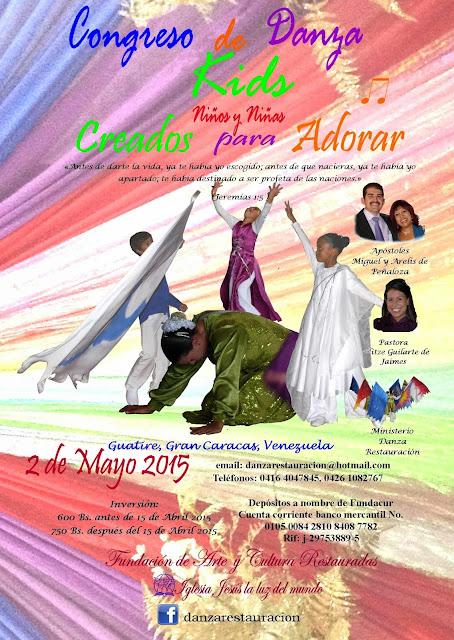 Afiche Congreso danza Kids