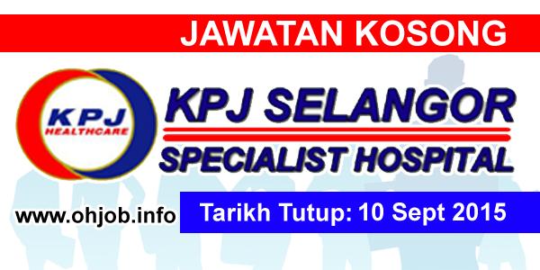 Jawatan Kerja Kosong KPJ Healthcare Berhad logo www.ohjob.info september 2015
