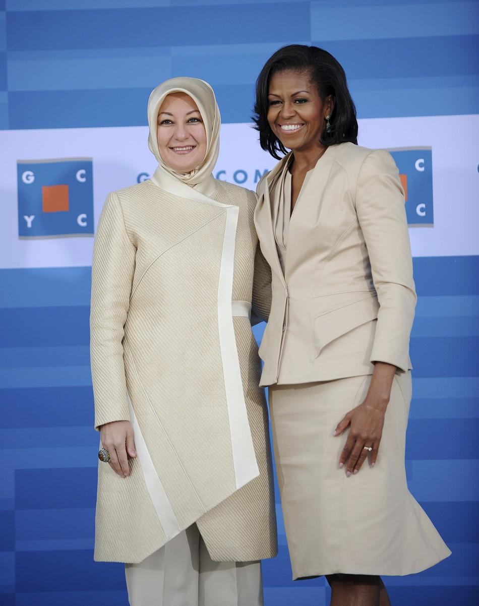 Ibu Negara Yang Mengenakan Hijab Tutorial Hijab