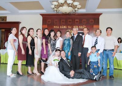 Đám cưới của Tâm Gà - Họ nhà Gái