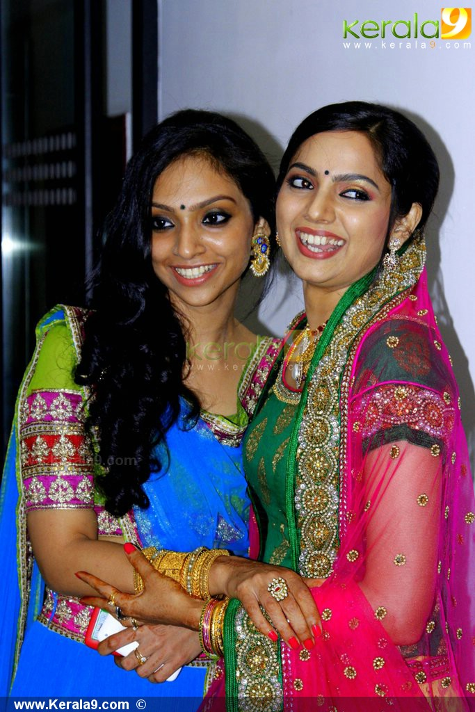 Samvritha Sunil Marriage Reception Photos With Celebrities