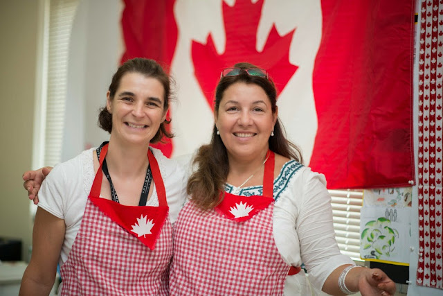 Canadian room at International Day BIS 2013
