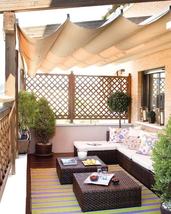 Terrazas ideas de decoraci n decorando mejor - Terrazas pequenas con encanto ...