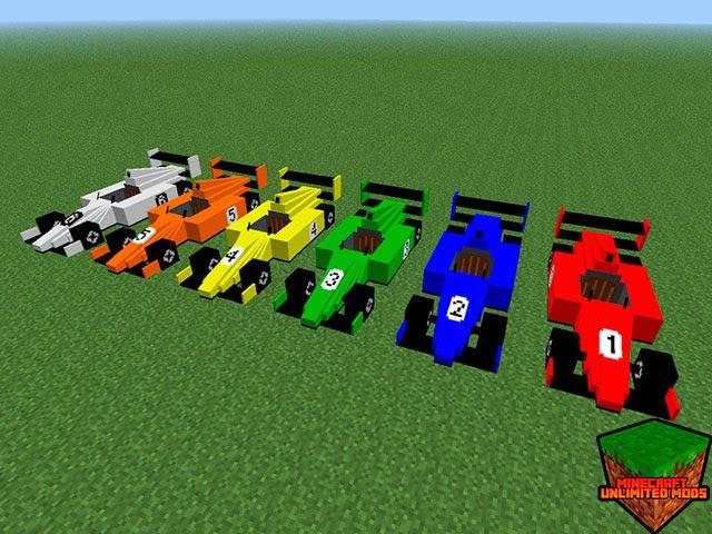 Flan's Mod coches fórmula 1
