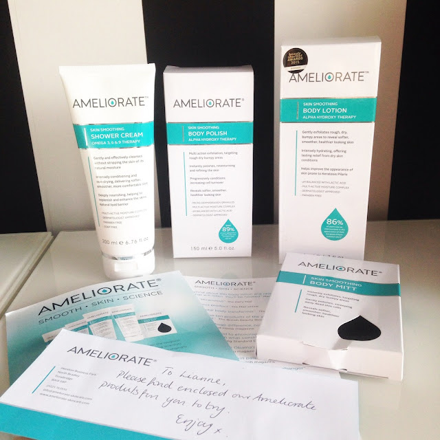Ameliorate, Chicken Skin, Keratosis Pilaris, KP, skincare