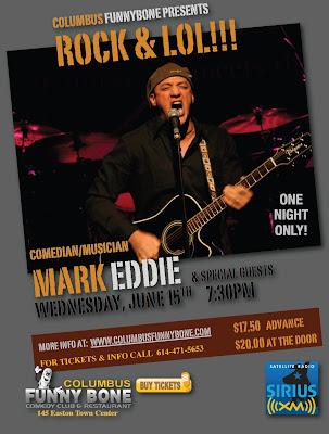 Mark Eddie Musician Comedian Funny Bone Columbus