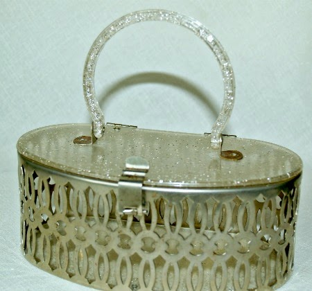 Lucite & Filigree Purse