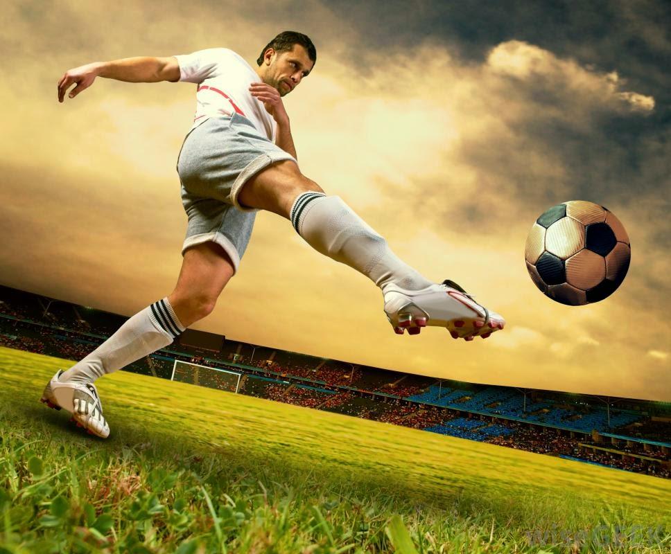 latihan sepak bola