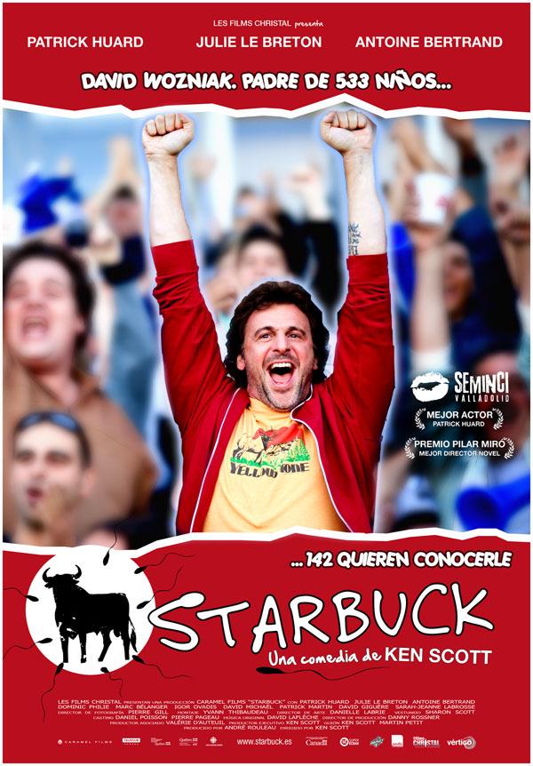 Cartel de Starbuck, con Patrick Huard, para los estrenos de la semana de Making Of
