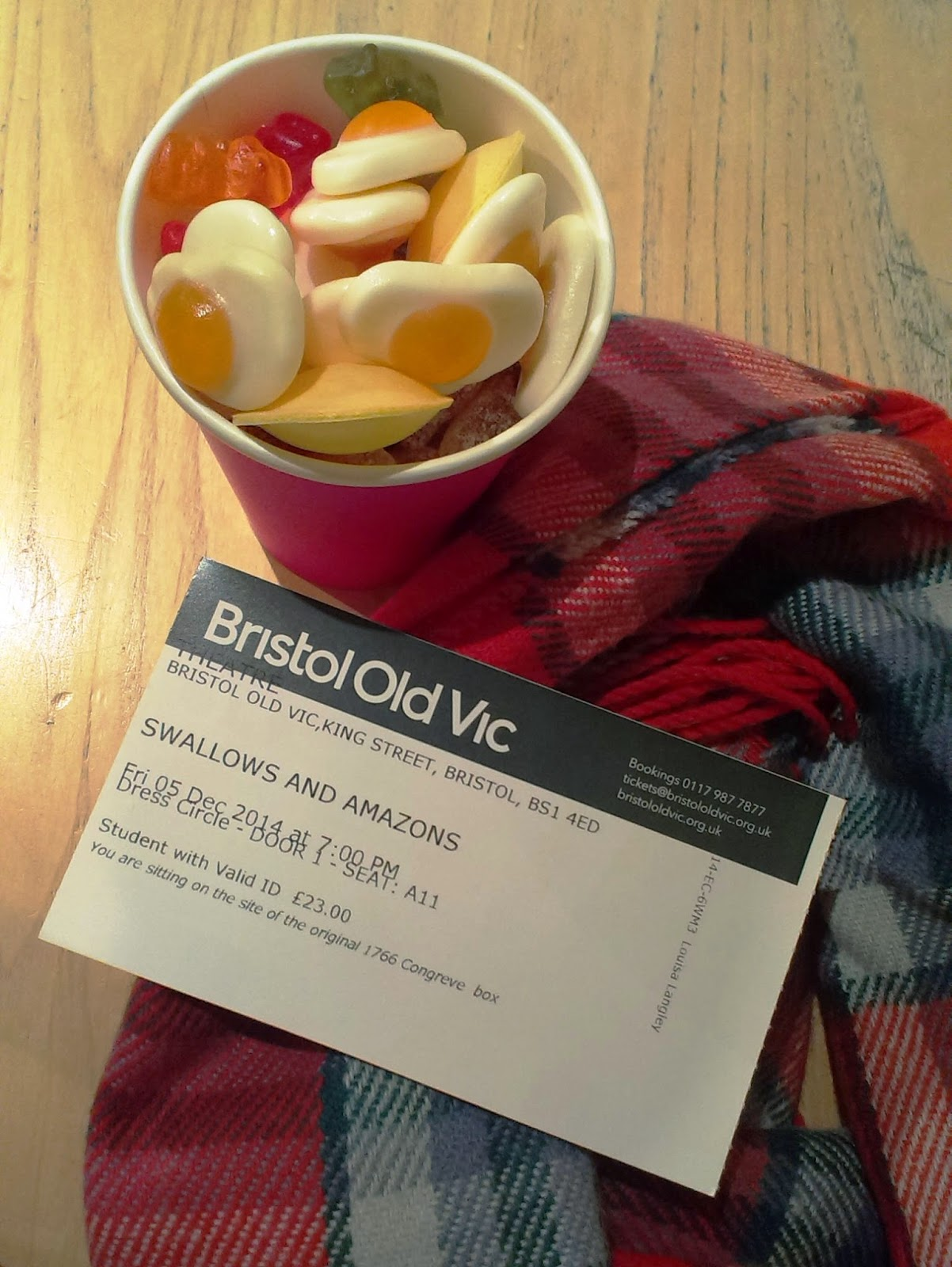 Bristol Old Vic sweets