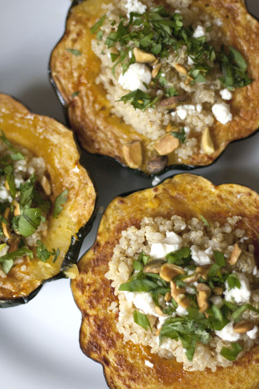 Stuffed Acorn Squash | could i have that?