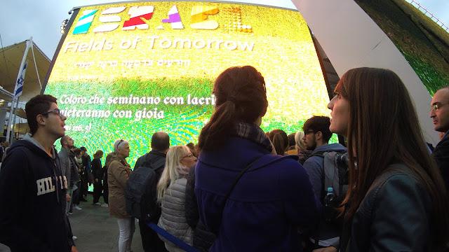 Expo Milano 2015 pabellón Israel