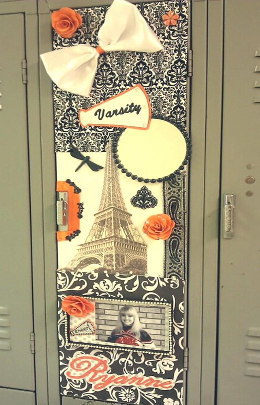 senior week varsity locker decorating 2013 - Locker Decoration Ideas