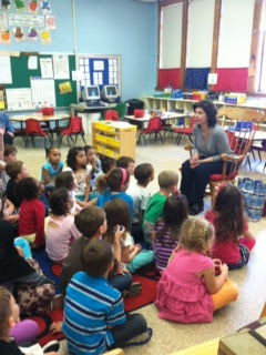 {The Greening Of Westford} Speaking with Kindergartners about Recycling