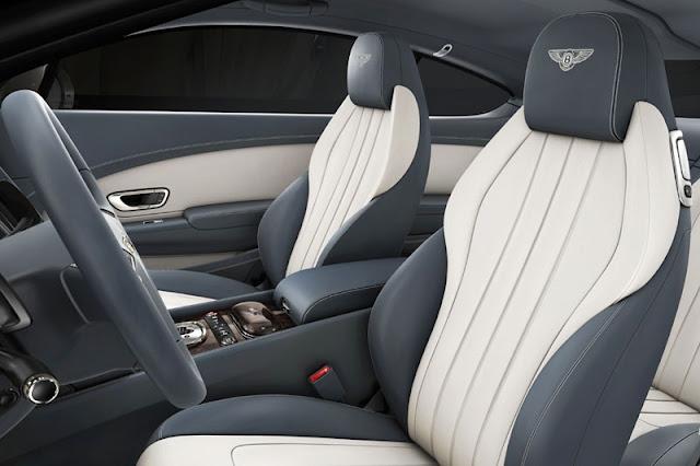 2013 Bentley Continental GT V8 Interior Trim Rear View