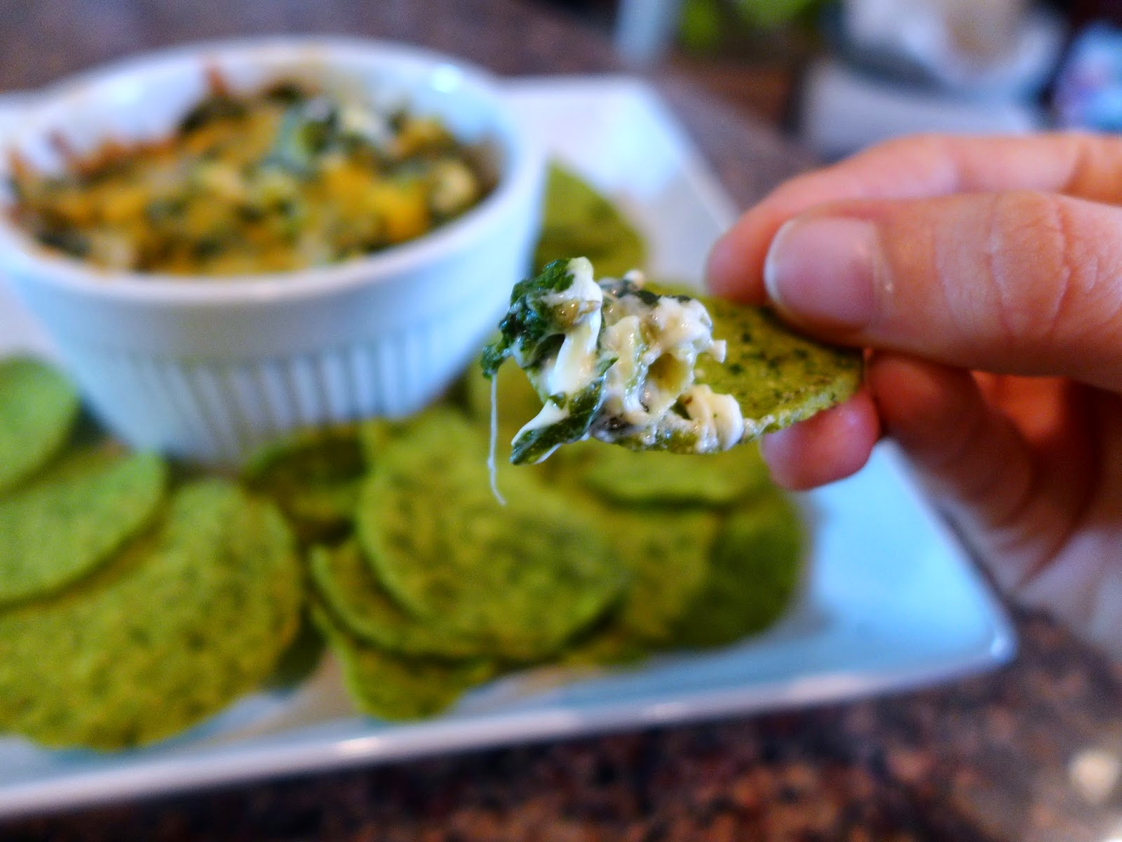 You know you want Spinach and Artichoke Dip!