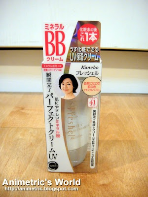 Kanebo Freshel White C Mineral BB cream UV in Natural Beige