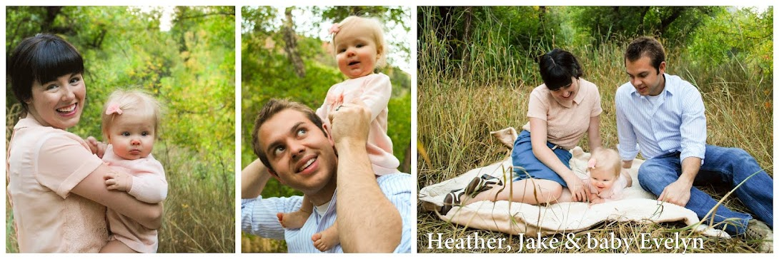 Heather, Jake and baby Evelyn