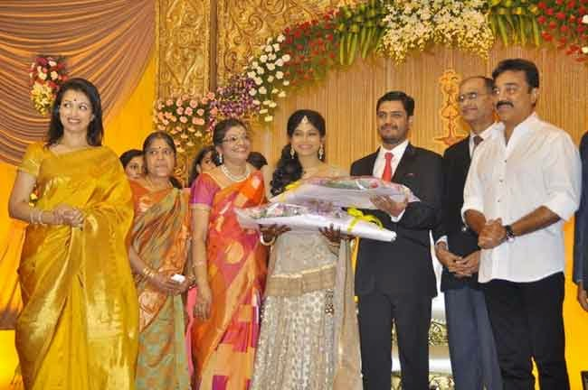 K Balachander Grand Daughter Wedding Reception