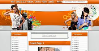 Plantilla Para Blog de Músicas 3 columnas 00653