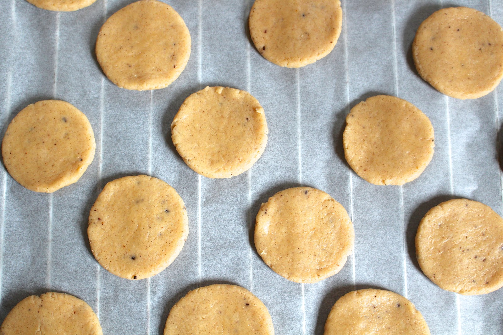 Chai spiced cookies recipe