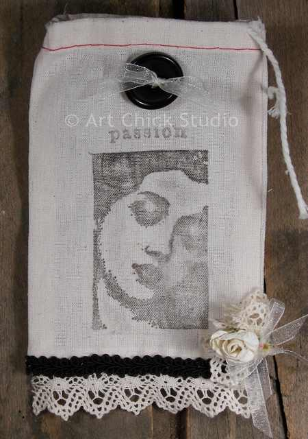 Passion Shabby Chic Pouch