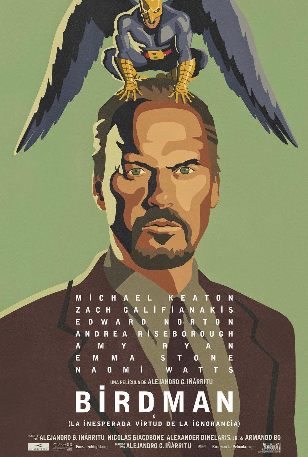 Resultado de imagen para iñarritu birdman