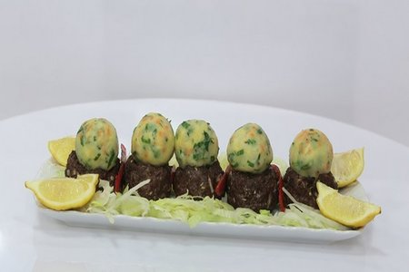 Kofta with mashed potatoes