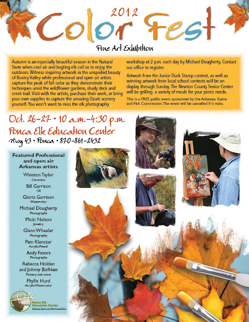 2012 Color Fest Brochure -- Ponca Elk Education Center