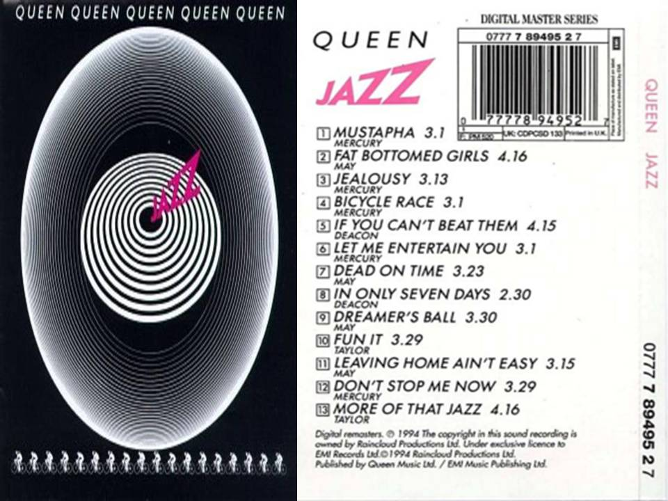 Queen séptimo album Jazz