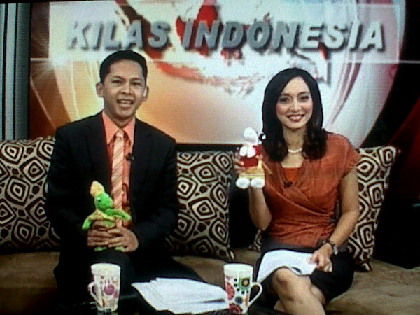 Isabella Fawzi (Kilas Indonesia) dengan Modo dan Modi, Gobal TV, Nov