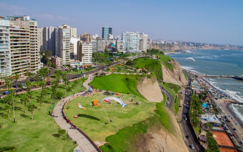 Miraflores District lima, peru