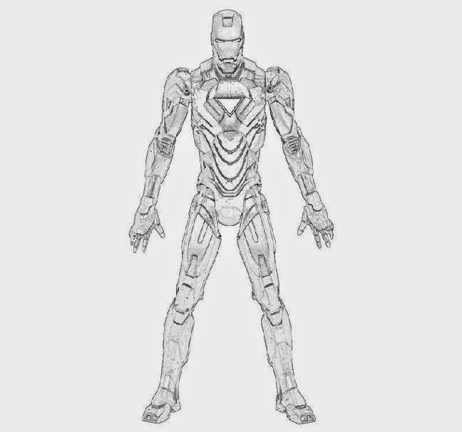 Iron Patriot Coloring Page Iron Man Patriot Coloring