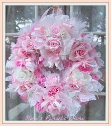 Shabbydazzle Pink Wreath