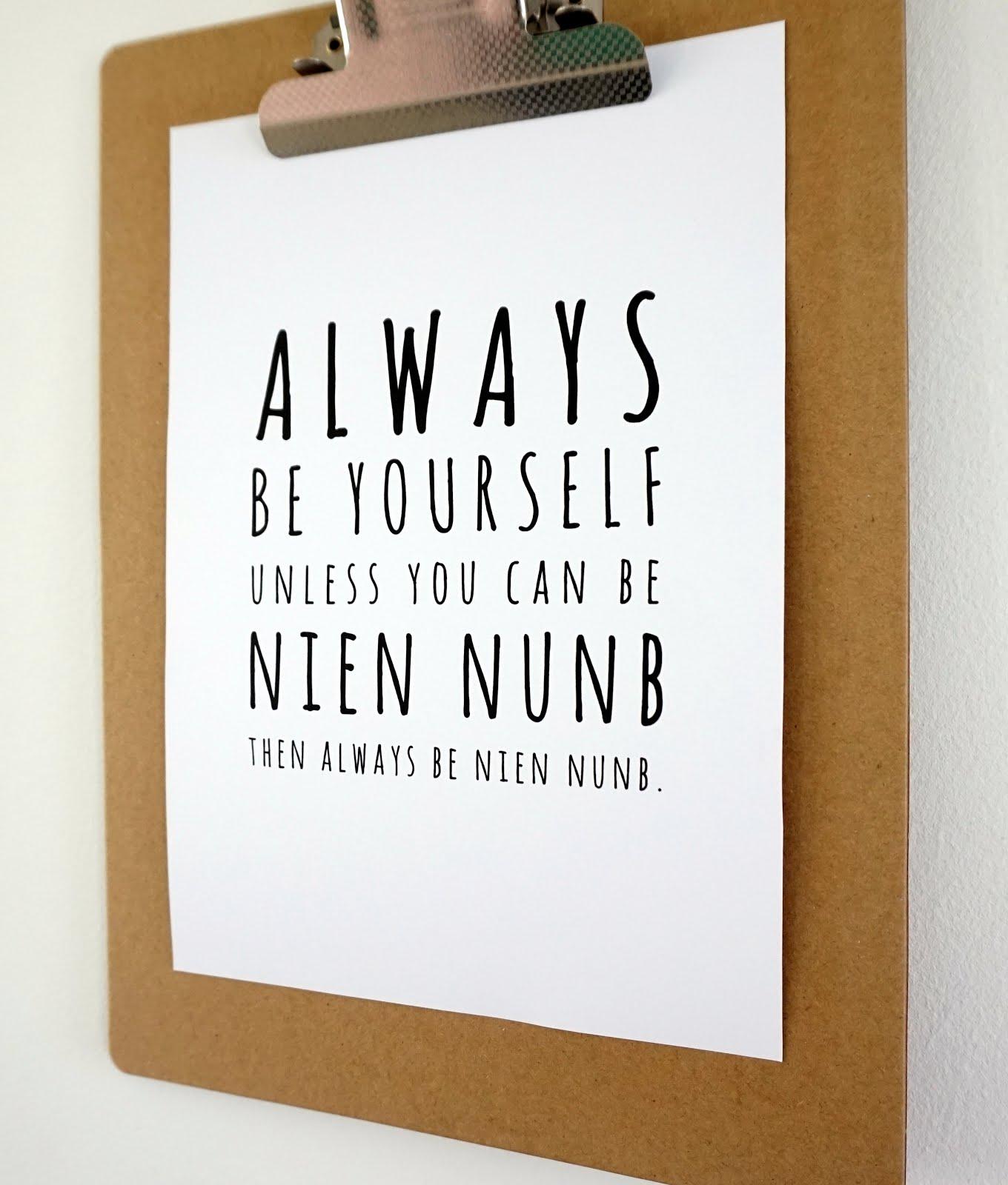 3 Star Wars Nien Numb posters om te printen